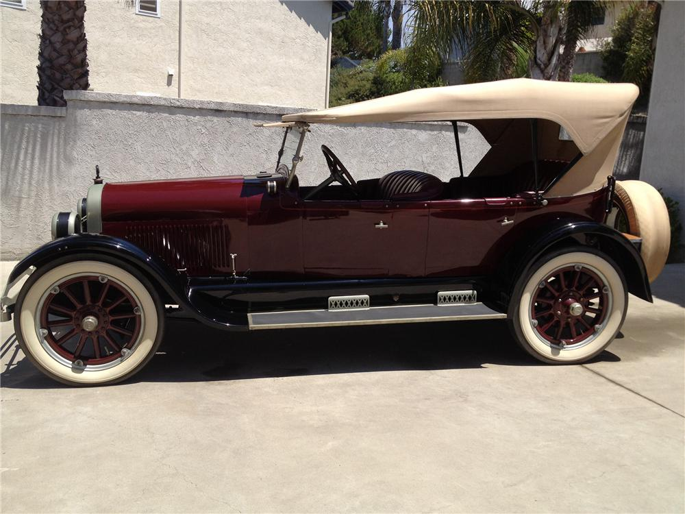 1923 BUICK 4 DOOR TOURING CONVERTIBLE - Side Profile - 133543