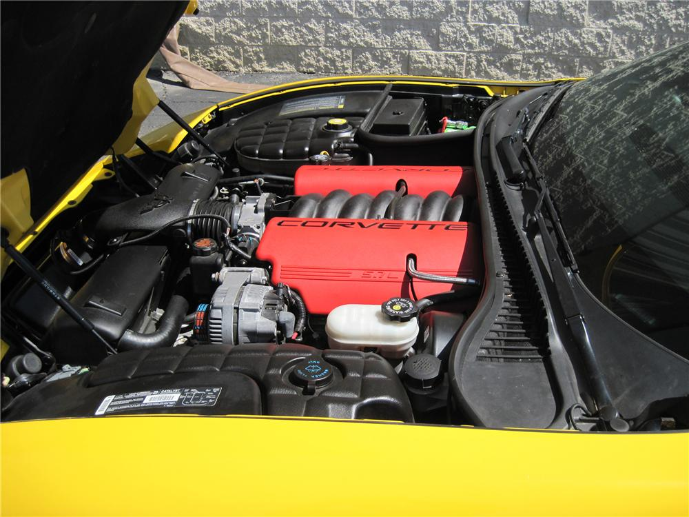 2001 CHEVROLET CORVETTE Z06 CUSTOM CONVERTIBLE - Engine - 133556