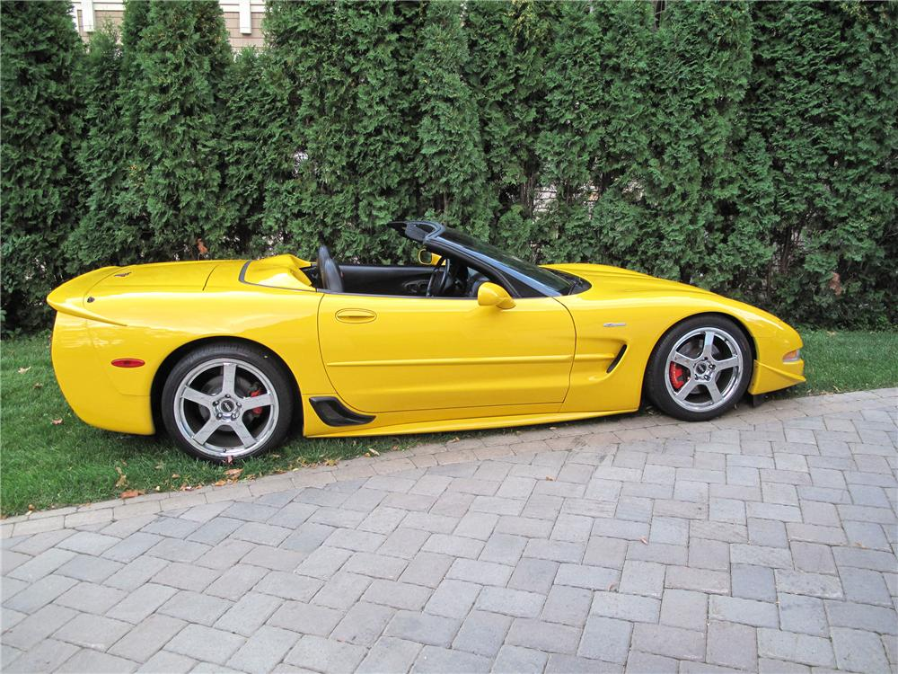 2001 chevrolet corvette z06 custom convertible 133556. Black Bedroom Furniture Sets. Home Design Ideas