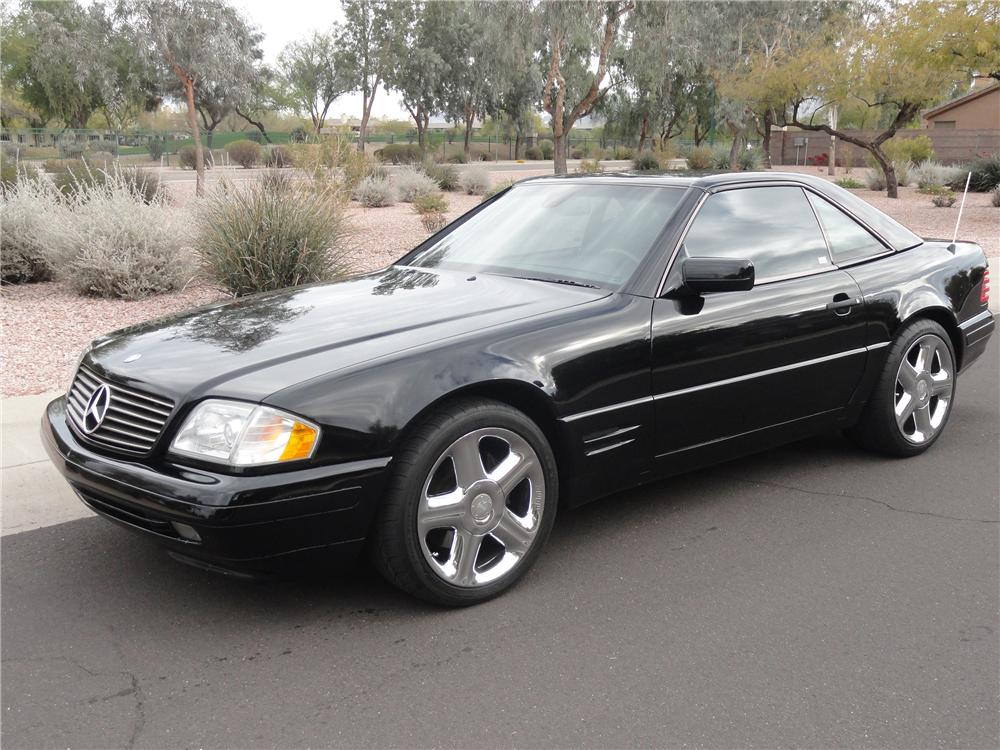 1997 mercedes benz sl500 convertible 133557