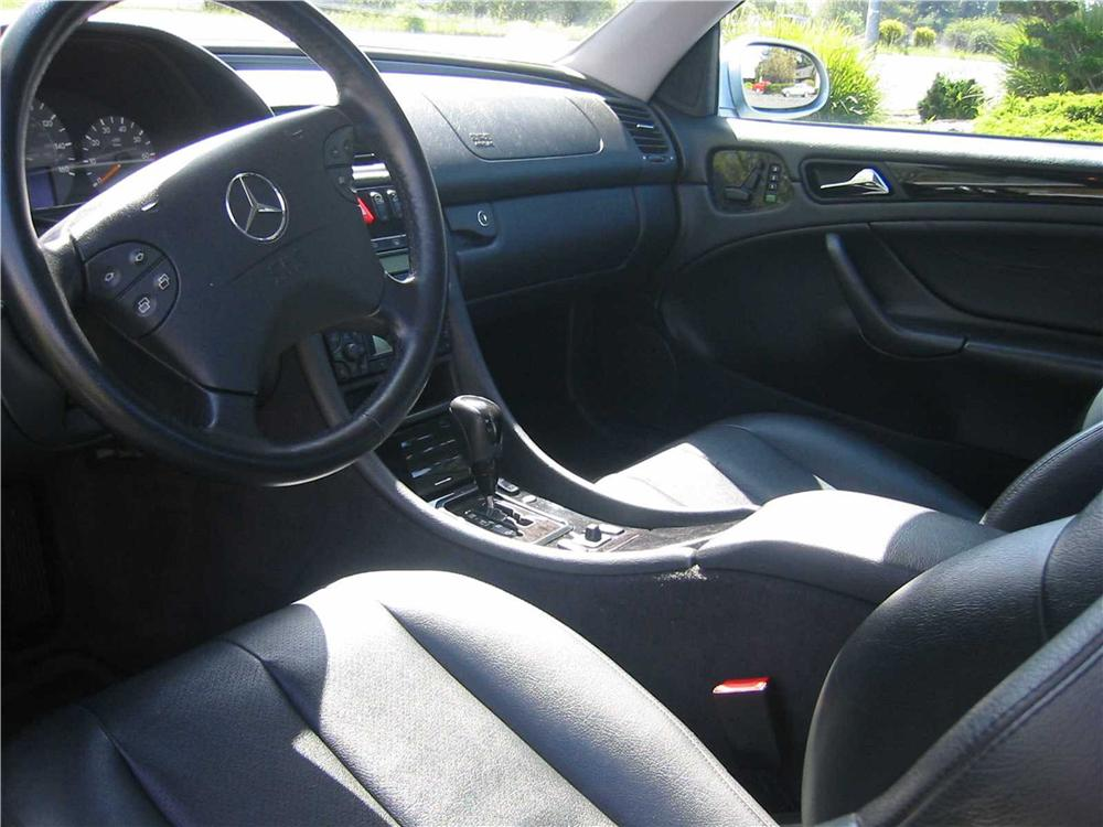 2001 MERCEDES-BENZ CLK430 CONVERTIBLE - Interior - 133558