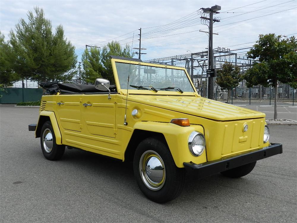 1973 VOLKSWAGEN THING CONVERTIBLE - Front 3/4 - 133560