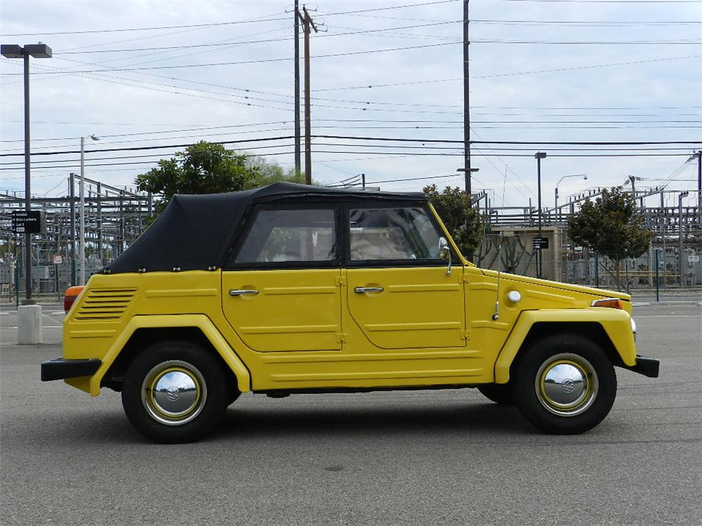1973 VOLKSWAGEN THING CONVERTIBLE - Side Profile - 133560