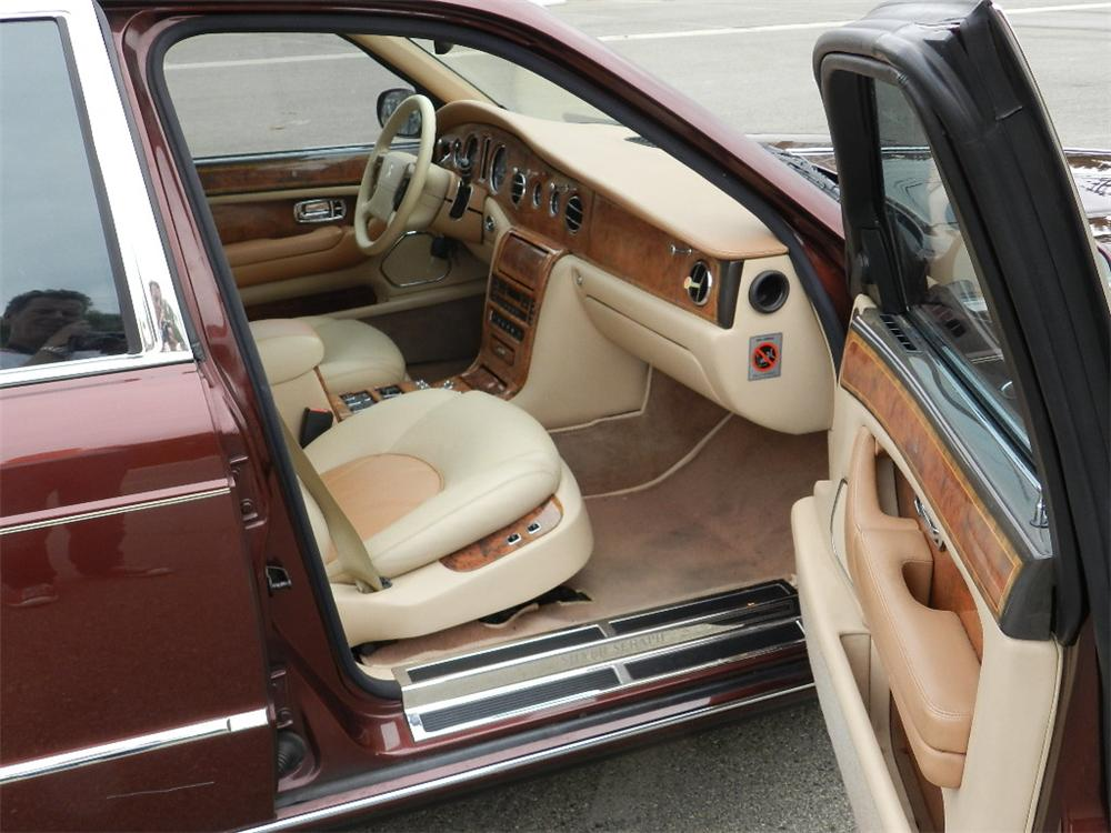 1999 ROLLS-ROYCE SILVER SERAPH 4 DOOR SEDAN - Interior - 133564
