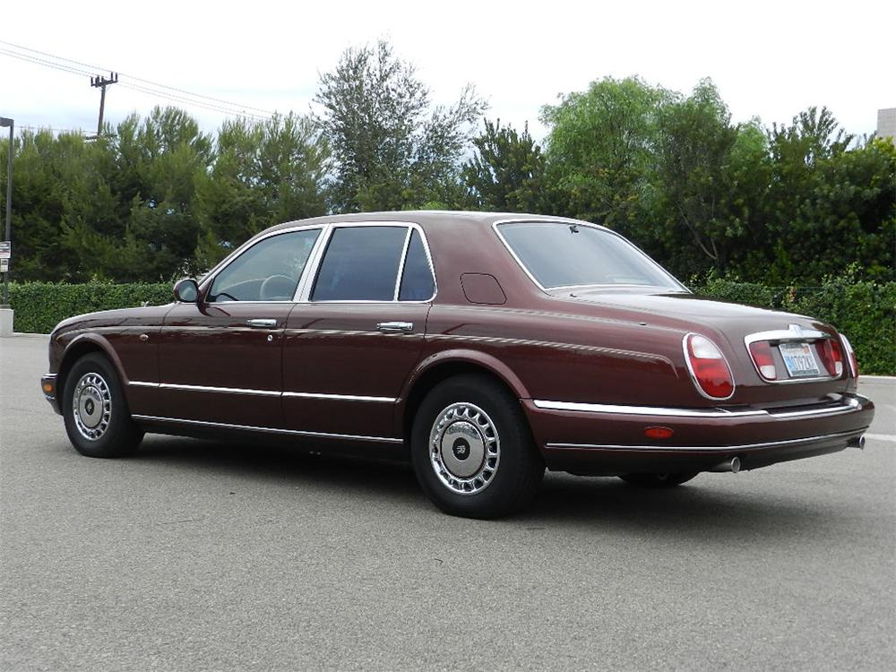 1999 ROLLS-ROYCE SILVER SERAPH 4 DOOR SEDAN - Rear 3/4 - 133564