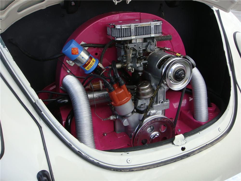 1970 VOLKSWAGEN BEETLE CUSTOM 2 DOOR SEDAN - Engine - 133570