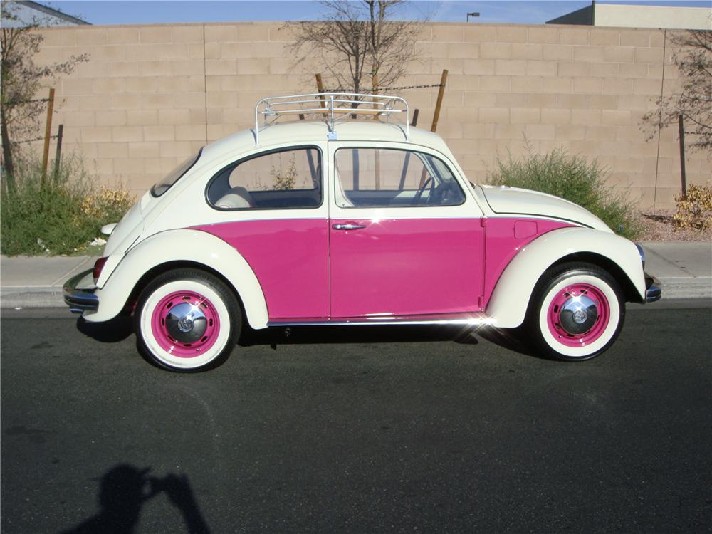 1970 VOLKSWAGEN BEETLE CUSTOM 2 DOOR SEDAN - Front 3/4 - 133570