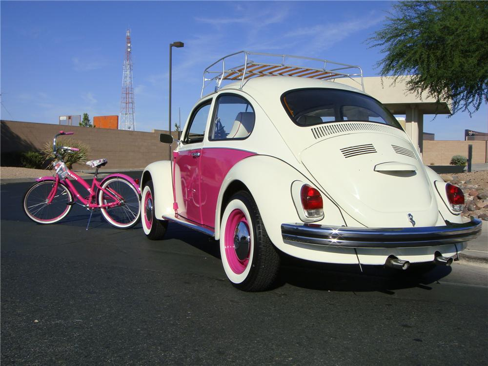 1970 VOLKSWAGEN BEETLE CUSTOM 2 DOOR SEDAN - Rear 3/4 - 133570