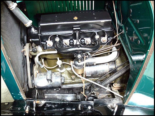 1928 CHEVROLET CUSTOM PICKUP - Engine - 133572