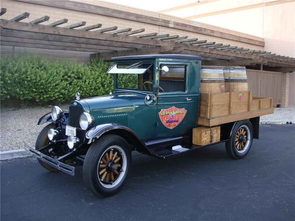 1928 CHEVROLET CUSTOM PICKUP - Front 3/4 - 133572