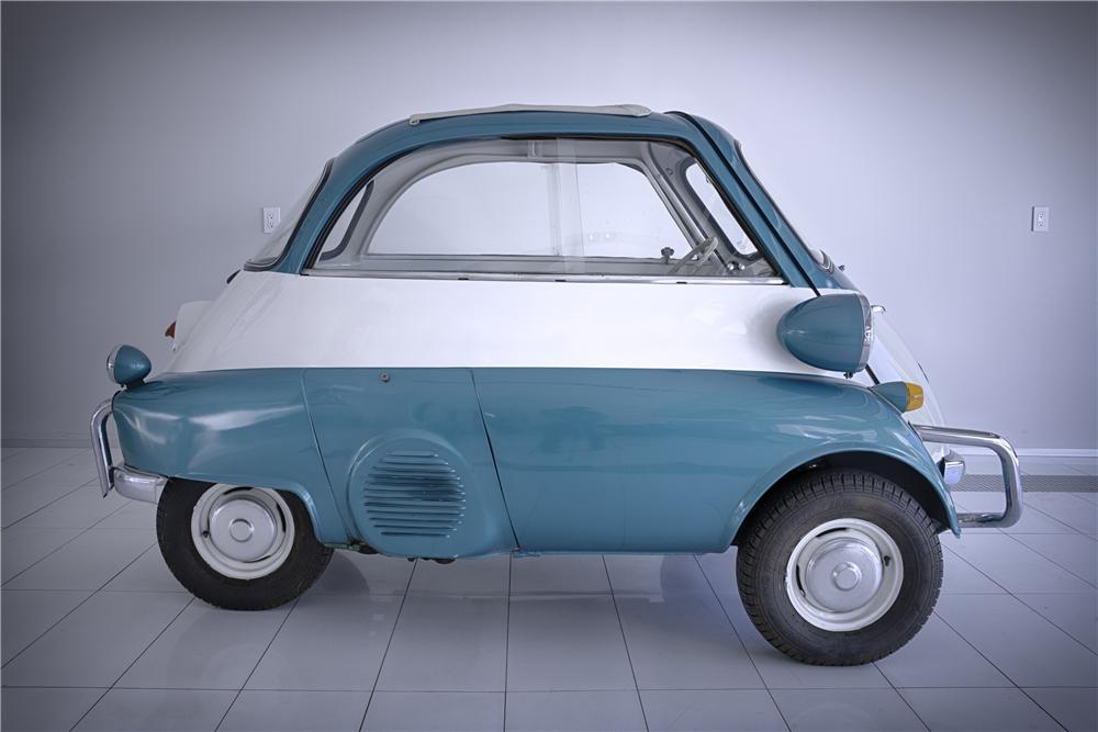1957 BMW ISETTA COUPE - Side Profile - 133576
