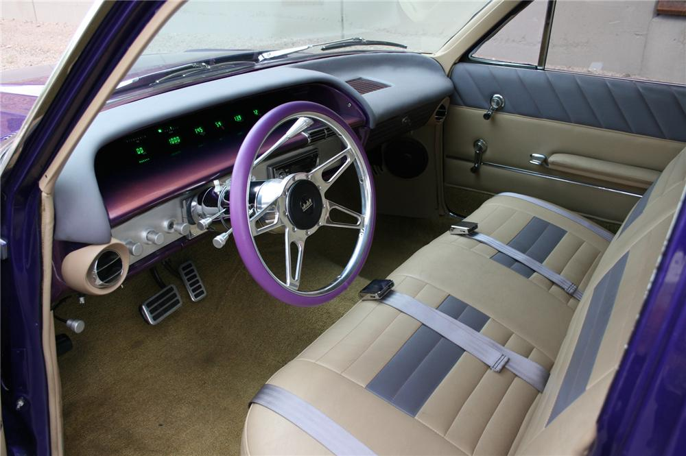 1963 CHEVROLET IMPALA CUSTOM STATION WAGON - Interior - 133581