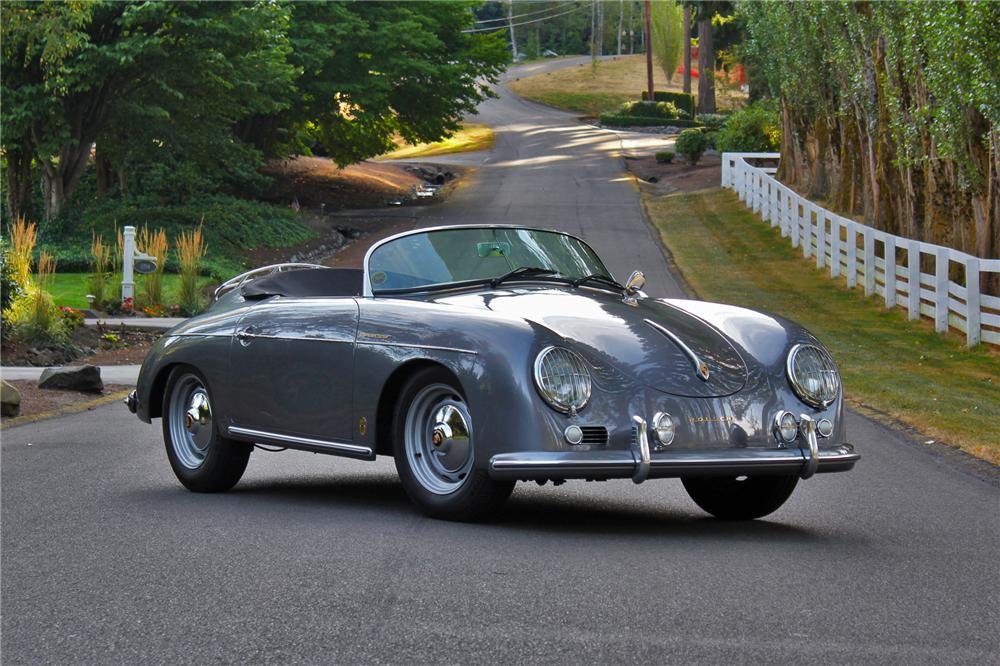 1957 PORSCHE 356 SPEEDSTER RE-CREATION - Front 3/4 - 133590