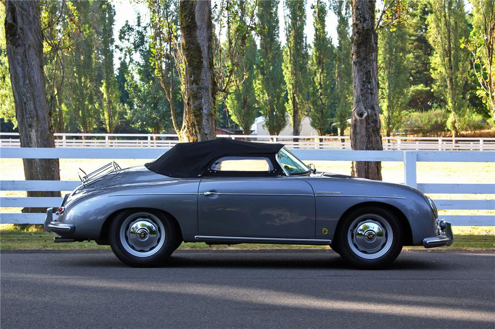 1957 PORSCHE 356 SPEEDSTER RE-CREATION - Side Profile - 133590