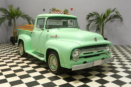 1956 FORD F-100 PICKUP - Front 3/4 - 133596