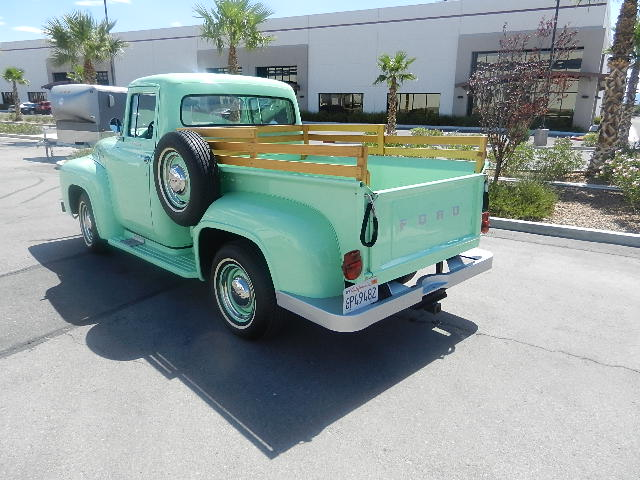 1956 FORD F-100 PICKUP - Rear 3/4 - 133596