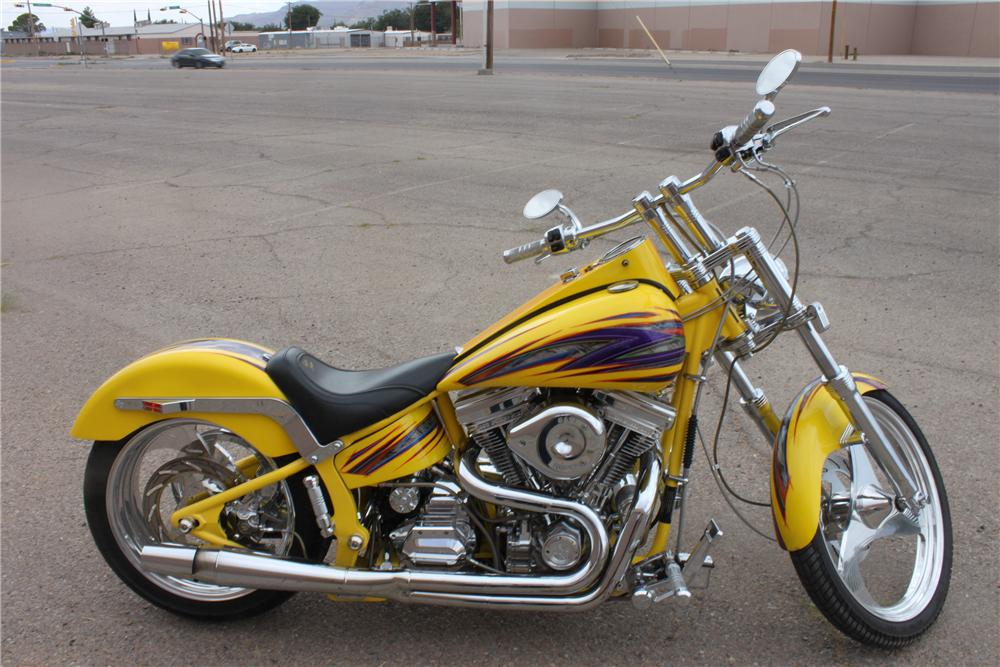 2001 PURE CUSTOM MOTORCYCLE - Side Profile - 133598