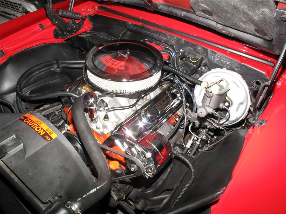 1967 CHEVROLET CAMARO CUSTOM CONVERTIBLE - Engine - 133602
