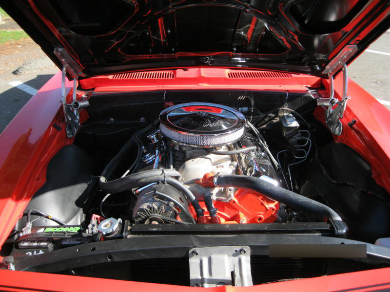 1967 CHEVROLET CAMARO CONVERTIBLE - Engine - 133603