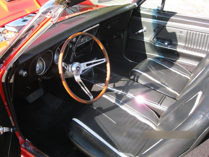 1967 CHEVROLET CAMARO CONVERTIBLE - Interior - 133603