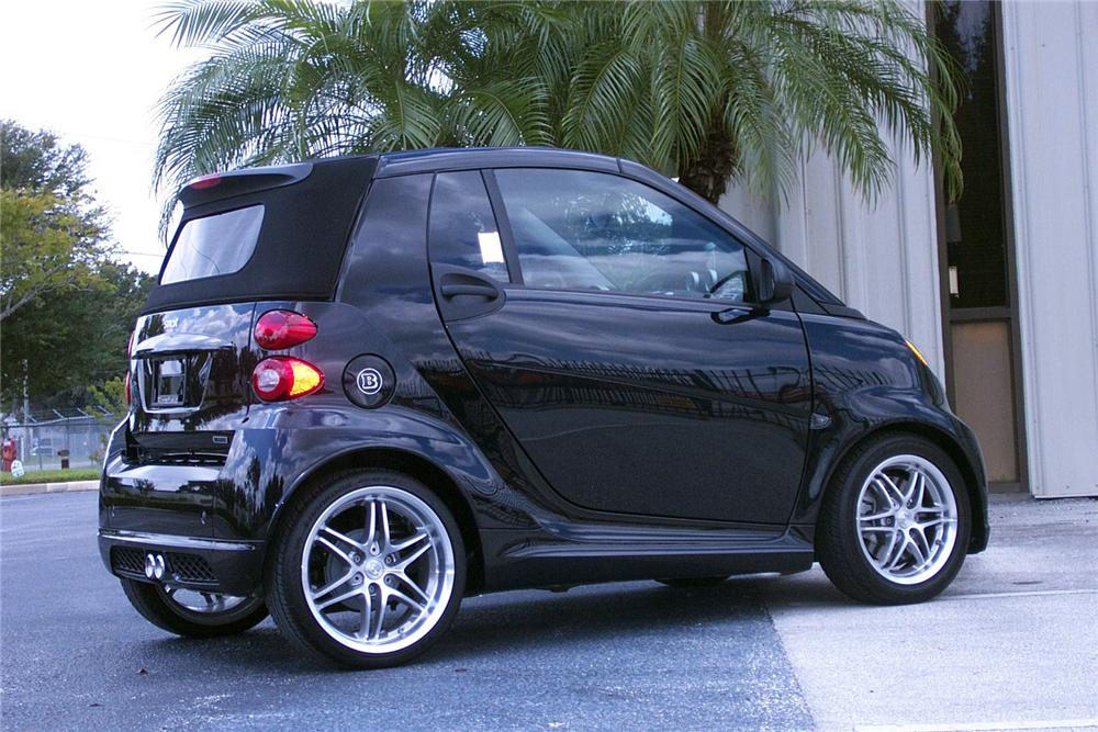 2009 SMART CAR BRABUS CABRIOLET - Rear 3/4 - 133607
