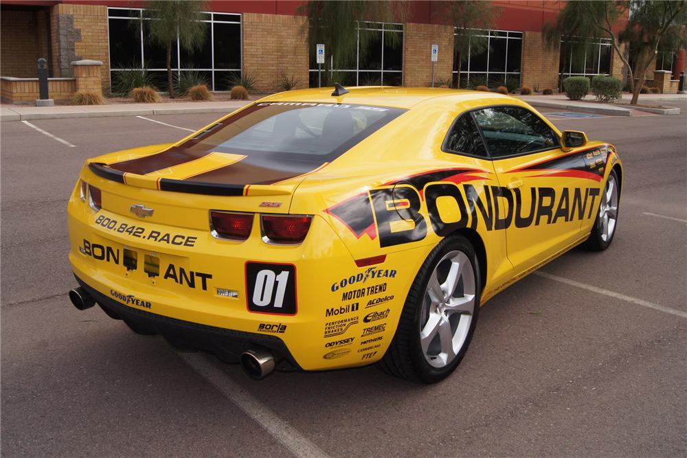 2011 CHEVROLET CAMARO RS/SS 2 DOOR COUPE - Rear 3/4 - 133611