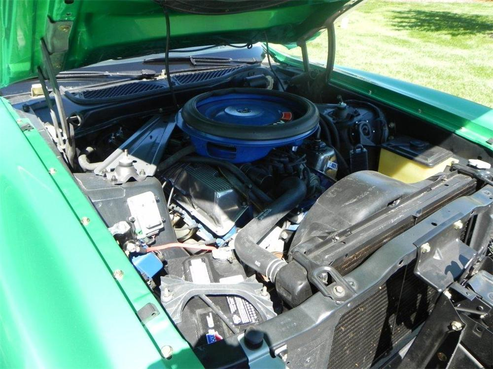 1971 FORD MUSTANG BOSS 351 FASTBACK - Engine - 133613