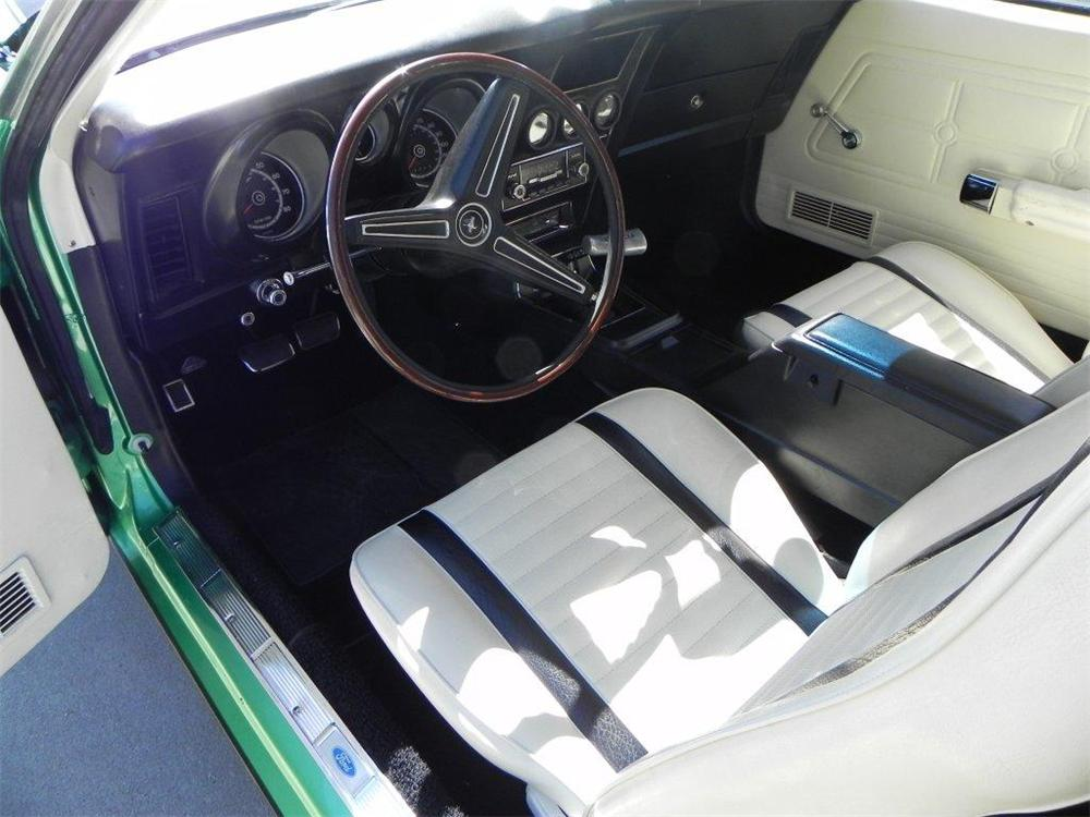 1971 FORD MUSTANG BOSS 351 FASTBACK - Interior - 133613