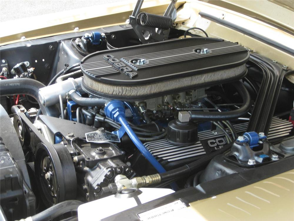 1968 SHELBY GT500 FASTBACK - Engine - 137558