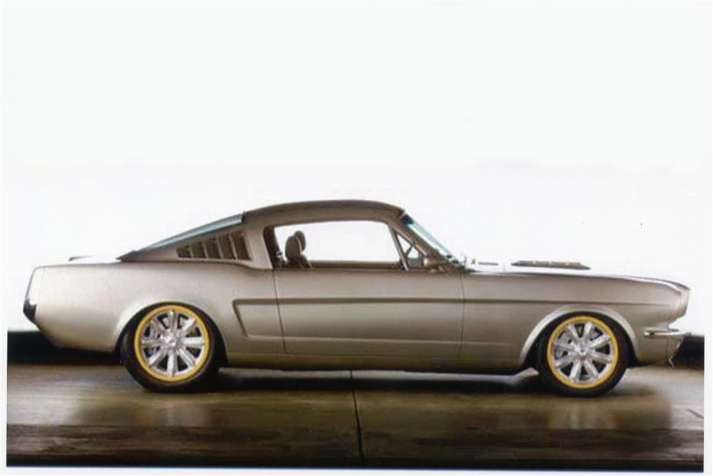 1966 FORD MUSTANG CUSTOM FASTBACK - Side Profile - 137559