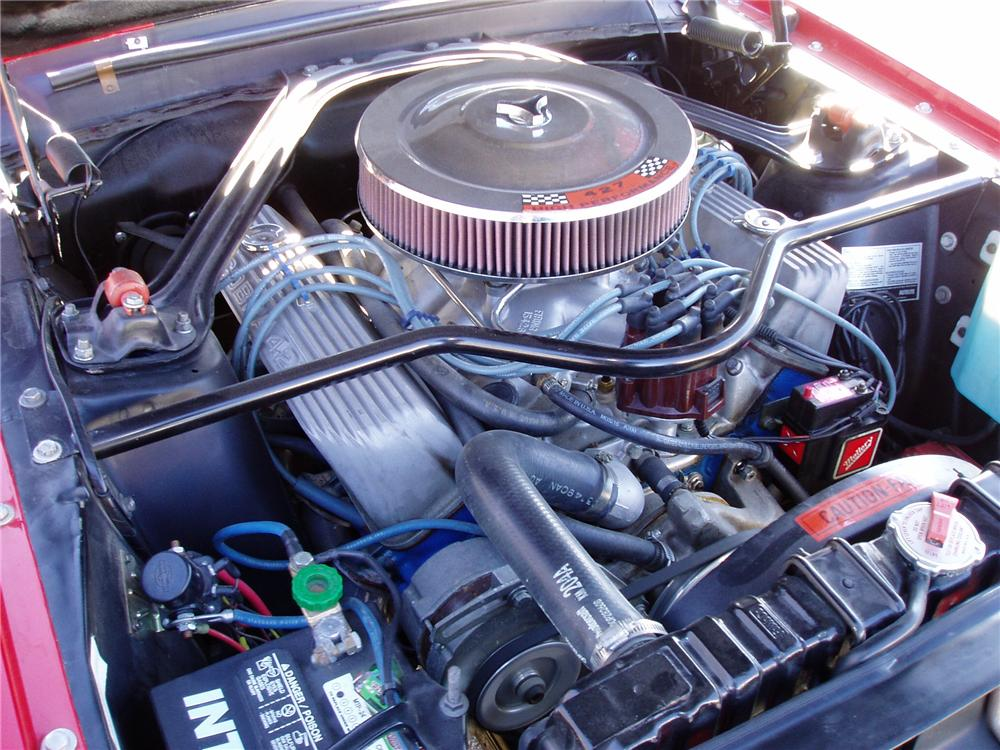 1967 SHELBY GT500 FASTBACK - Engine - 137563