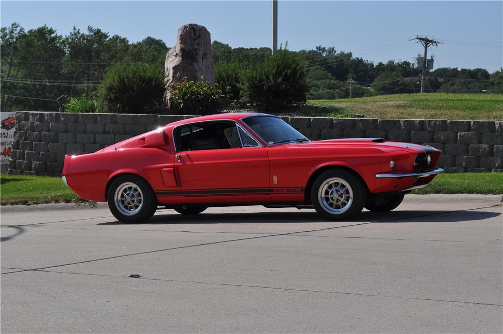 1967 SHELBY GT500 FASTBACK - Side Profile - 137563