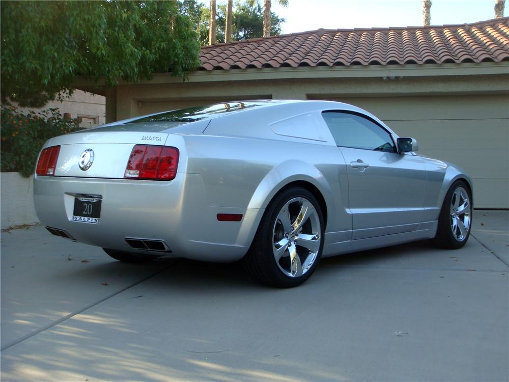 2009 FORD MUSTANG IACOCCA 45TH ANNIVERSARY - Rear 3/4 - 137564