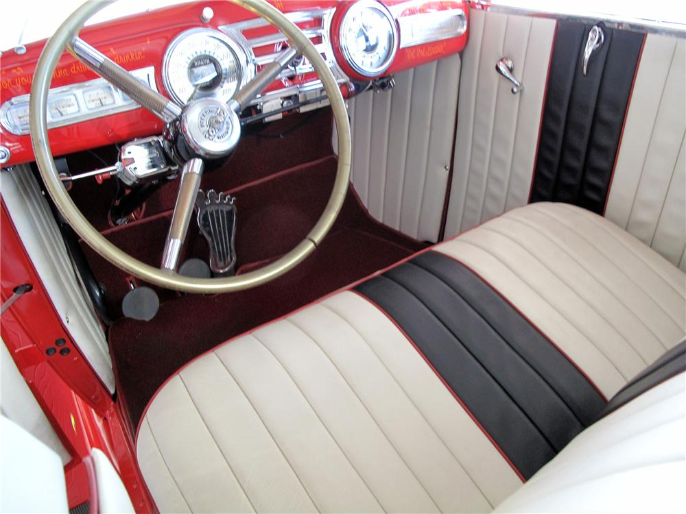 1930 LINCOLN CUSTOM 2 DOOR COUPE - Interior - 137567