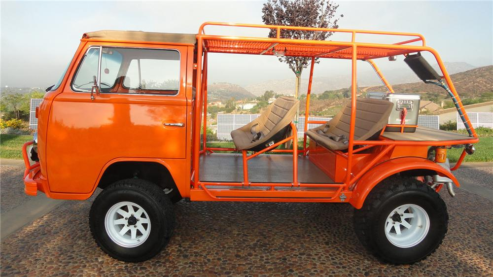 1973 VOLKSWAGEN BUS CUSTOM BEACH BUS - Side Profile - 137570