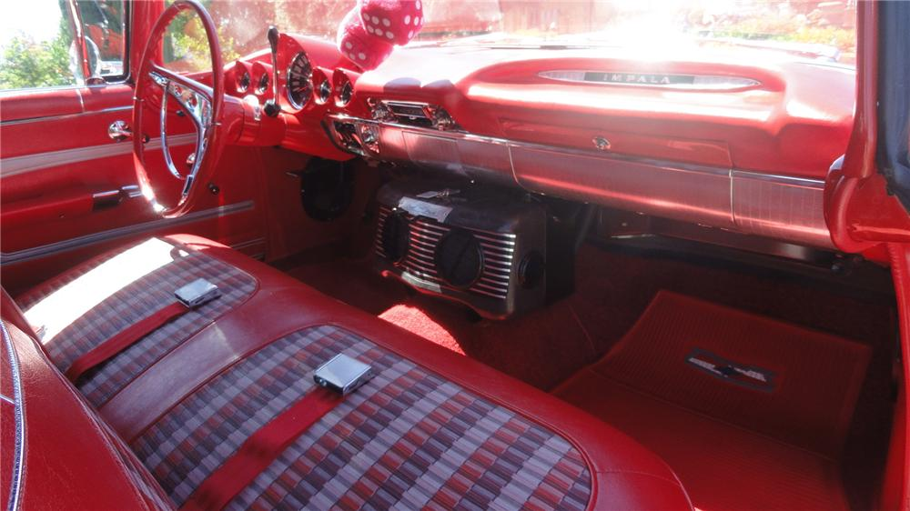 1959 CHEVROLET IMPALA CONVERTIBLE - Interior - 137573