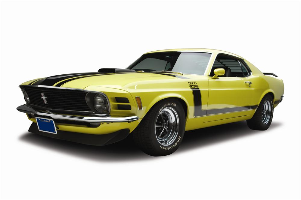 1970 FORD MUSTANG BOSS 302 FASTBACK - Front 3/4 - 137574
