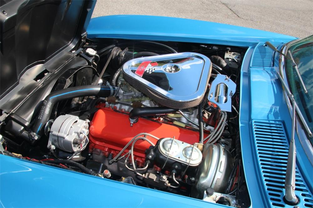 1967 CHEVROLET CORVETTE CONVERTIBLE - Engine - 137577