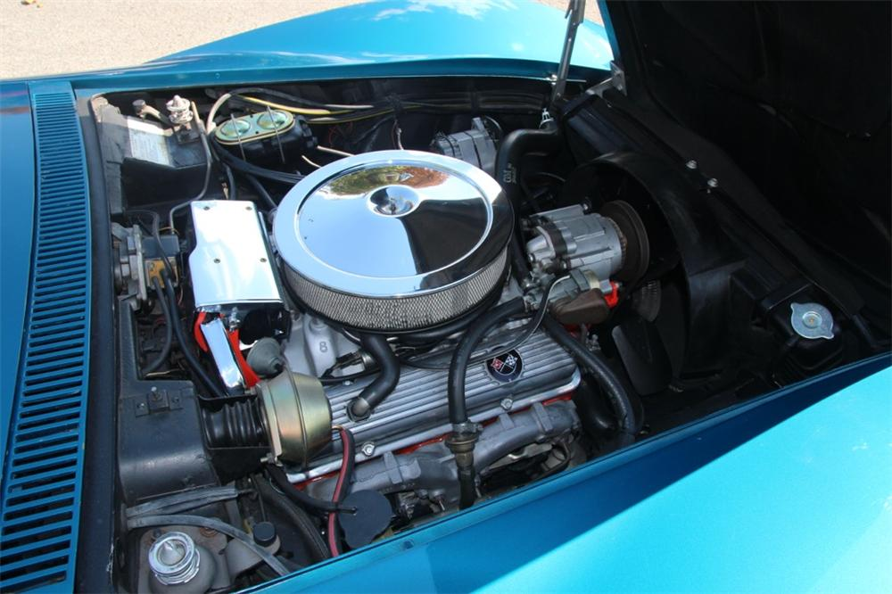 1972 CHEVROLET CORVETTE CONVERTIBLE - Engine - 137582