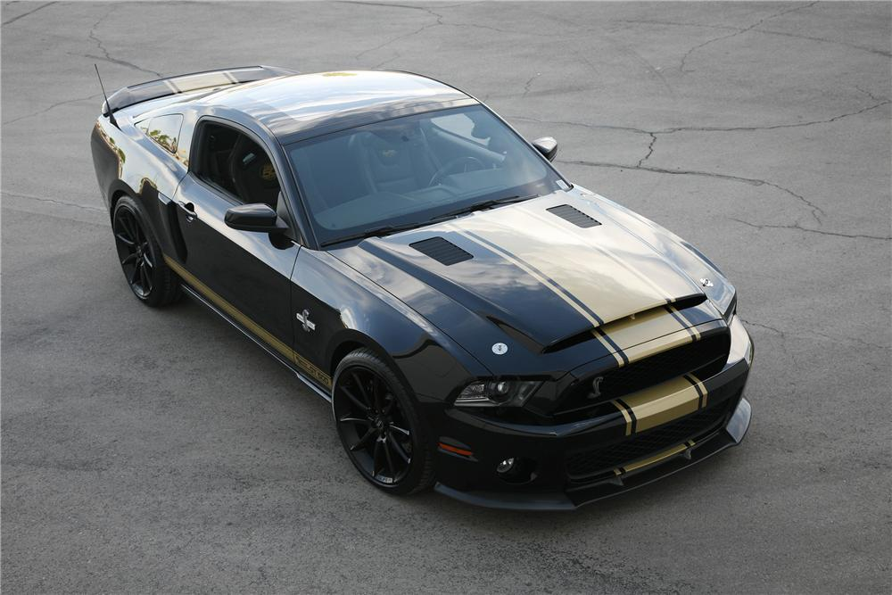 2012 SHELBY GT500 50TH ANNIVERSARY SUPER SNAKE - Front 3/4 - 137592