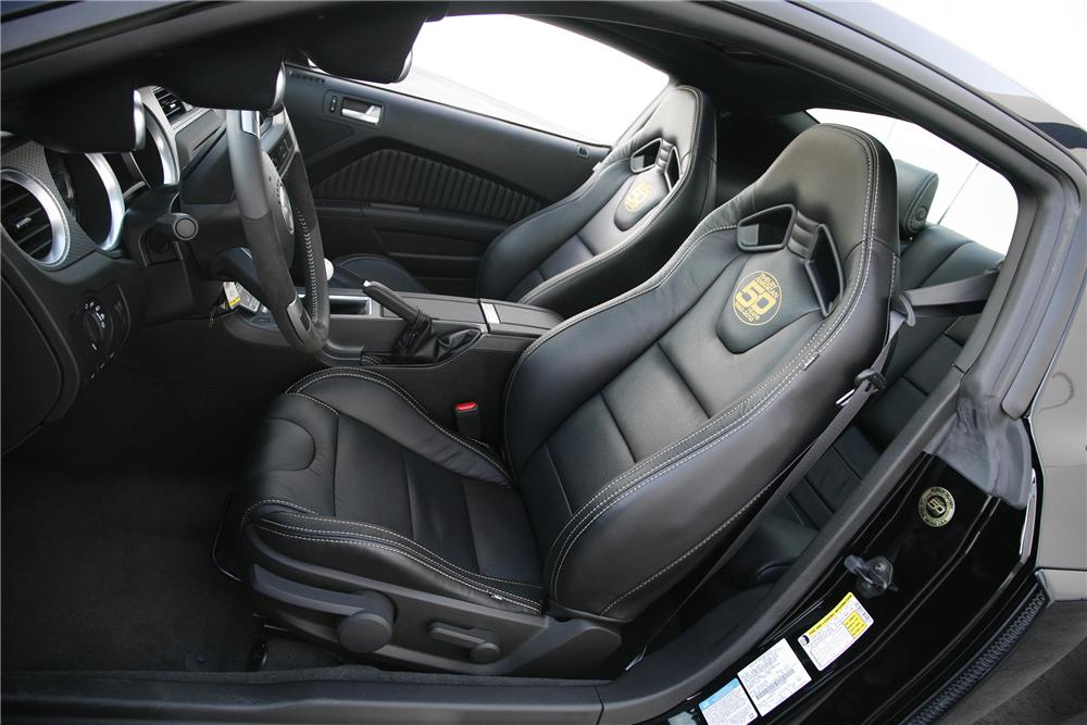 2012 SHELBY GT500 50TH ANNIVERSARY SUPER SNAKE - Interior - 137592