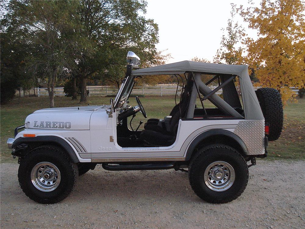 1981 JEEP CJ-7 CUSTOM SUV - Side Profile - 137600