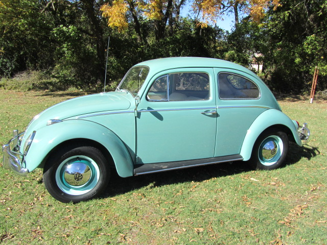 1962 VOLKSWAGEN BEETLE 2 DOOR COUPE - Side Profile - 137604