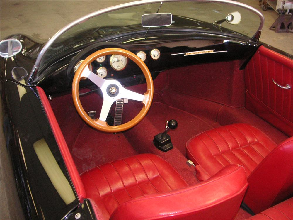 1955 PORSCHE SPEEDSTER RE-CREATION - Interior - 137608