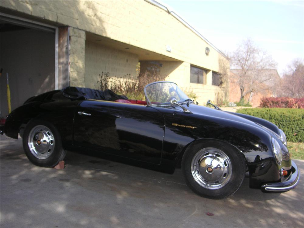1955 PORSCHE SPEEDSTER RE-CREATION - Side Profile - 137608