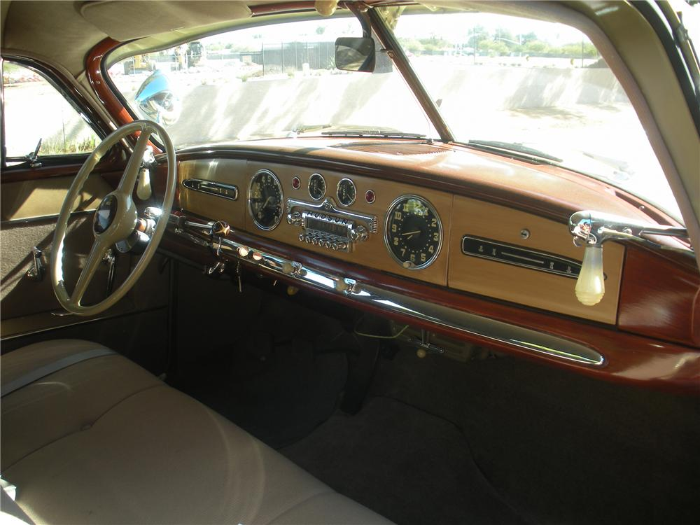 1949 HUDSON SUPER 6 2 DOOR COUPE - Interior - 137612