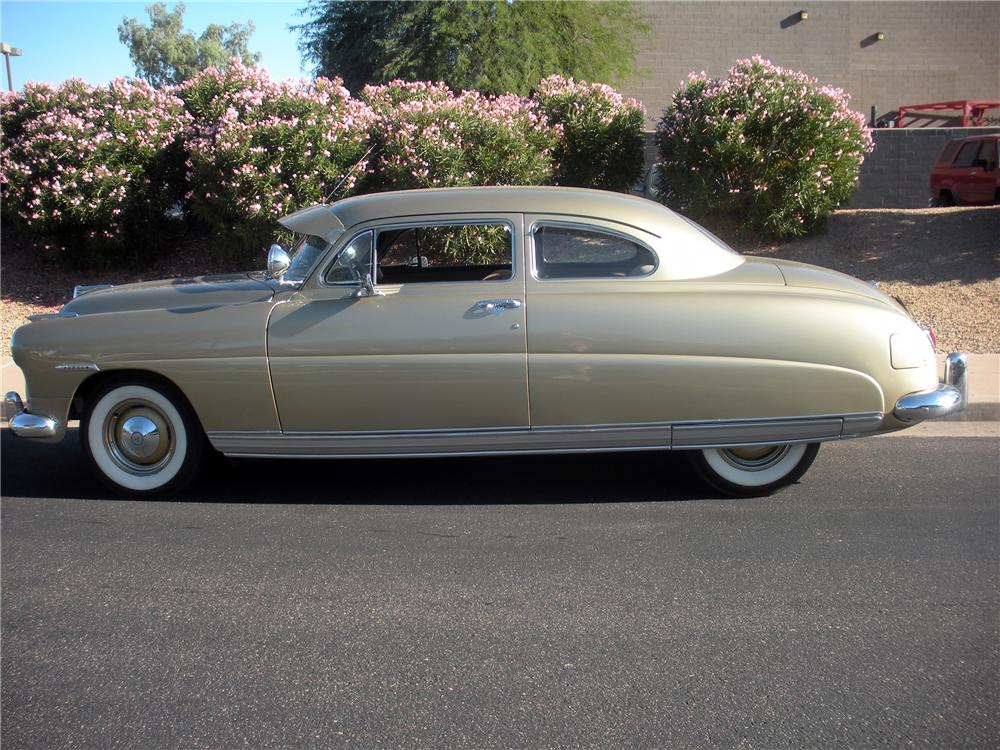 1949 HUDSON SUPER 6 2 DOOR COUPE - Side Profile - 137612