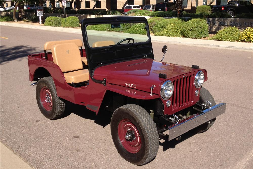 1952 WILLYS CJ3A  - Front 3/4 - 137614