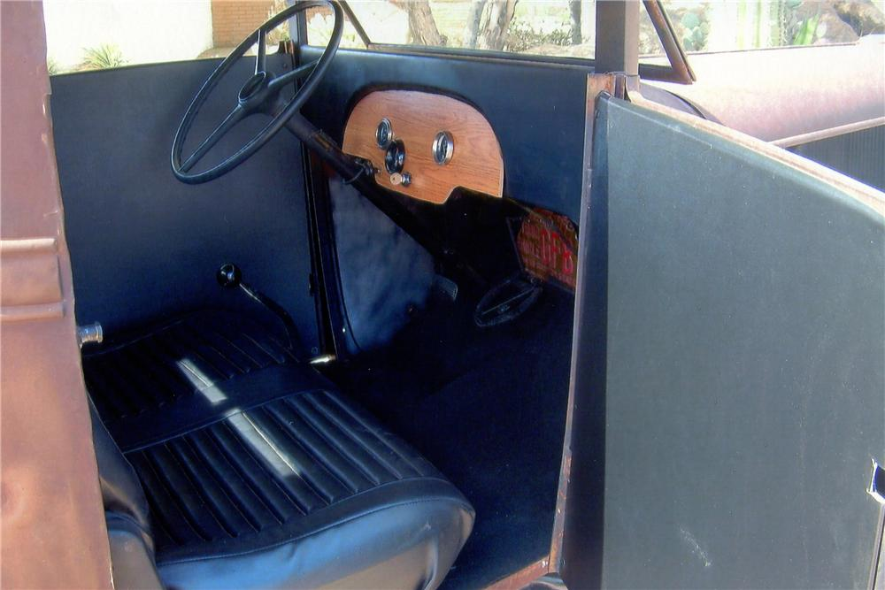 1931 CHEVROLET CUSTOM PICKUP - Interior - 137615