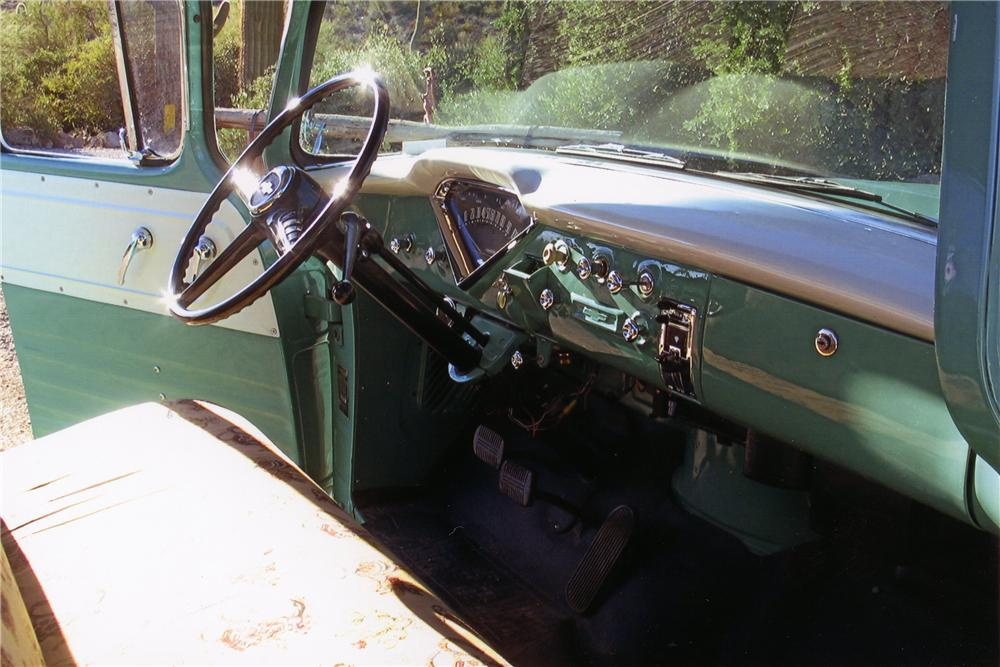 1956 CHEVROLET CAMEO PICKUP - Interior - 137616